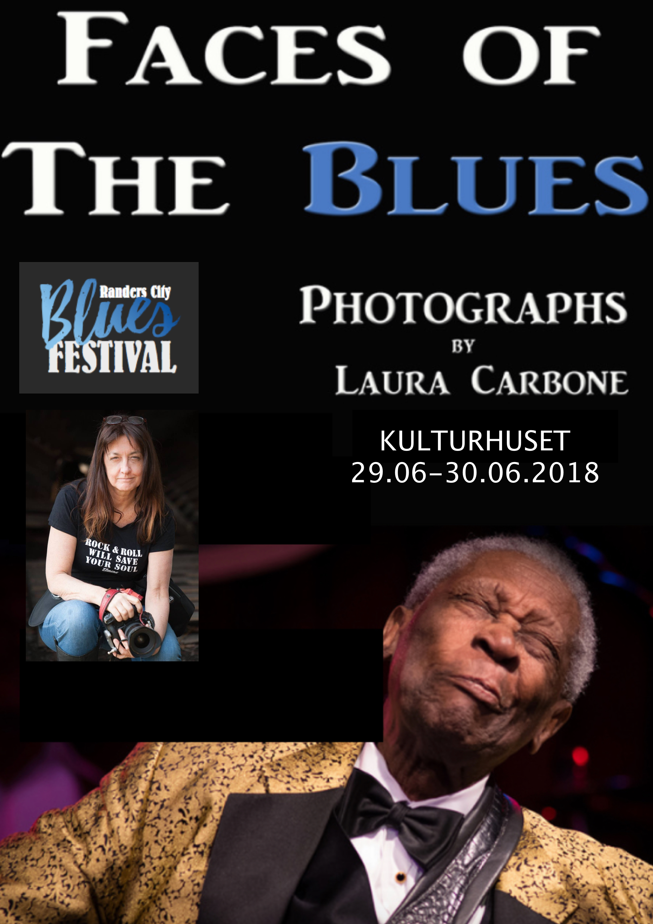 Faces of The Blues – Kulturhuset 29-30.06.18