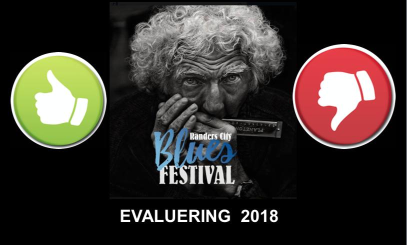 Evaluering af Randers City Blues Festival 2018