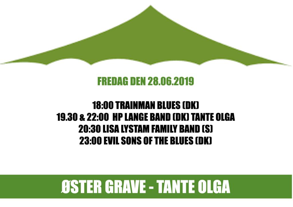 Teltet og Tante Olga - KL. 18:00-00:30