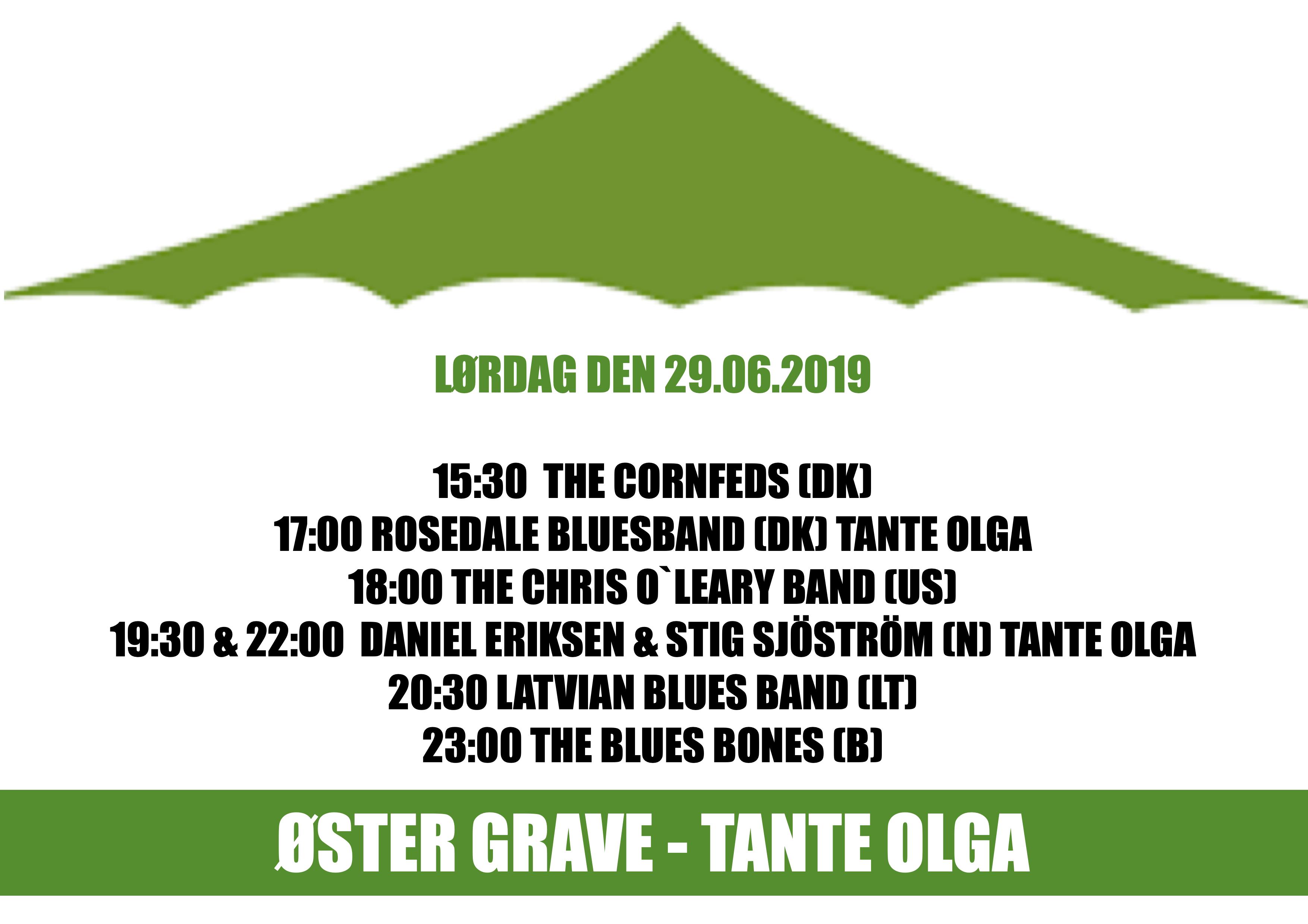 Teltet og Tante Olga  - kl. 15:30-00:30